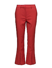 GLASS STRETCH TROUSER - BLAZER RED