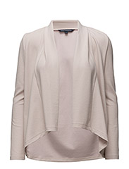 French Connection - Josie Jersey Drape Front Jckt