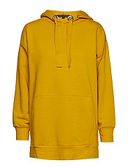 ALVAR SWEAT JERSEY LONG HOODIE - CALLUNA YELLOW