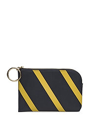 French Connection - Oakley Striped Blocked Wallet