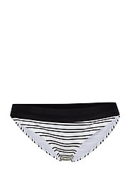 SPORT STRIPE HIGH RISE BRIEFS - SUMMER WHITE/BLACK