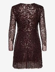 French Connection - EMILLE SPARKLE SHORT DRESS - paljettkjoler - decadence - 1