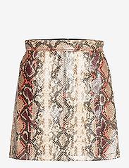 French Connection - BONNIE PU SKIRT - korta kjolar - neutral - 1