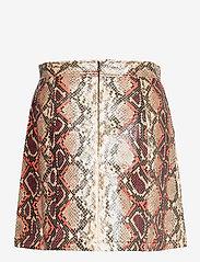 French Connection - BONNIE PU SKIRT - korta kjolar - neutral - 2