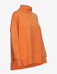 French Connection - SUNDAY SWEAT HNCK SIDE SPLIT - sweatshirts - jaffa orange - 3