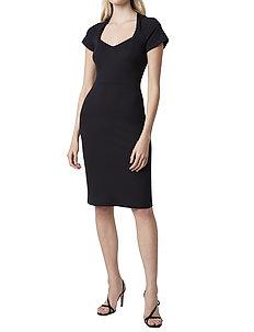 PENINA BEAU JERSEY BODYCON DRS - midi kjoler - black