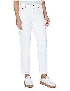 PALMIRA DENIM HW STRT LG JEAN - straight jeans - summer white