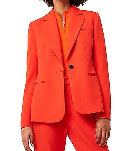 ADISA SUNDAE SUTNG TLRD JCKT - blazere - poppy red