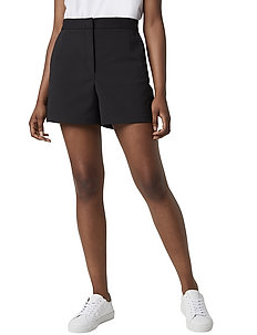 GLASS STRETCH SHORTS. - casual shorts - black