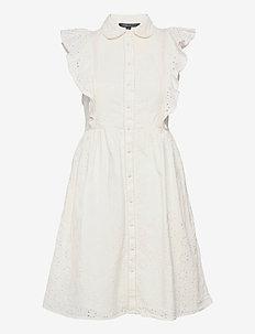DUNA LAWN EMBROIDERY DRESS - sommerkjoler - summer white