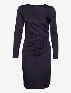 SONIKE BAMBOO JERSEY DRESS - cocktailkleider - utility blue