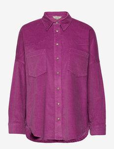 PAULA MICRO CORD RHODES SHACKE - uutuudet - purple meadow