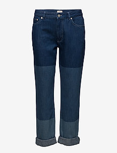 BOYFIT TRI SHADE JEANS - boyfriend jeans - blue block