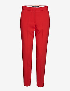 WHISPER RUTH TAILORED TROUSERS - FIRE CORAL