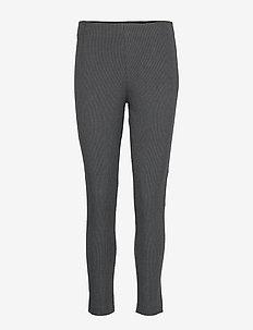 CALIMERO STRTCH MINI DOGTOOTH - slim fit bukser - grey multi
