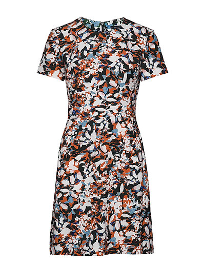 Enid Strtch Prnt Fit N Flr Drs Kurzes Kleid Bunt/gemustert FRENCH CONNECTION | FRENCH CONNECTION SALE