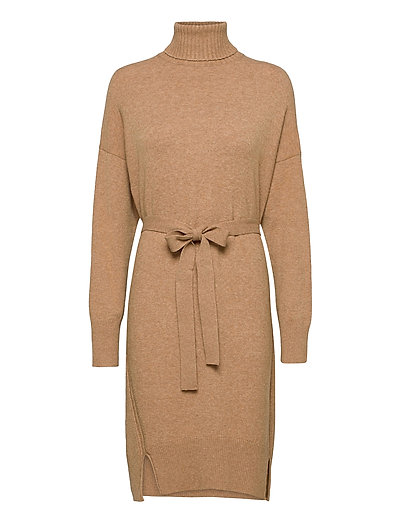 Kuma Vhari Knits Jumper Dress Kleid Knielang Beige FRENCH CONNECTION | FRENCH CONNECTION SALE