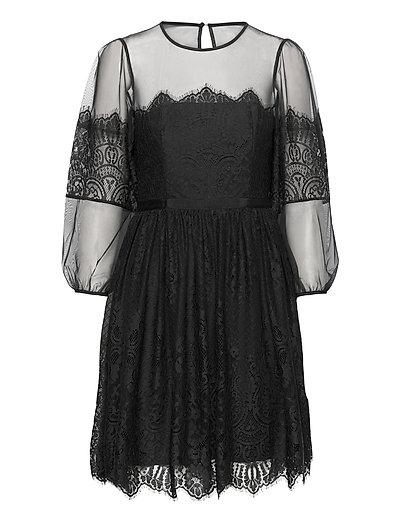 Chiara Lace Mini Dress Kurzes Kleid Schwarz FRENCH CONNECTION | FRENCH CONNECTION SALE