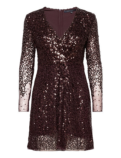 Emille Sparkle Short Dress Kurzes Kleid Lila FRENCH CONNECTION | FRENCH CONNECTION SALE