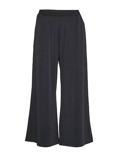 Renya Jersy Culottes Hosen Mit Weitem Bein Schwarz FRENCH CONNECTION