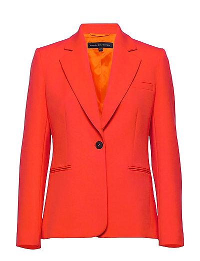 Adisa Sundae Sutng Tlrd Jckt Blazer Orange FRENCH CONNECTION | FRENCH CONNECTION SALE