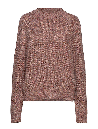 Suvia Knits Crew Neck Jumper Strickpullover Braun FRENCH CONNECTION