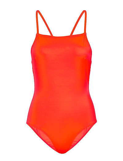 Core Convertable Strap Swimsuit Badeanzug Bademode Orange FRENCH CONNECTION