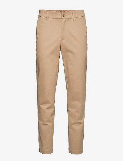 Seppo Organic Cotton Trousers - chinos - sand
