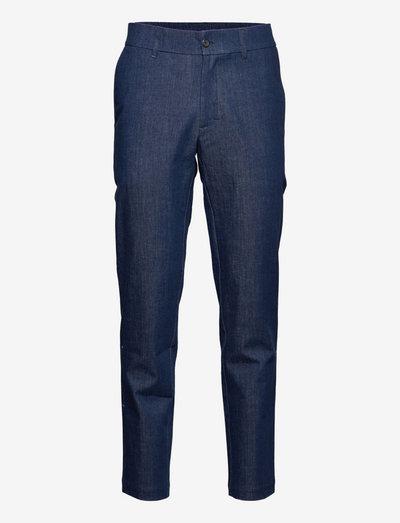 Seppo Denim Trousers - casual broeken - indigo
