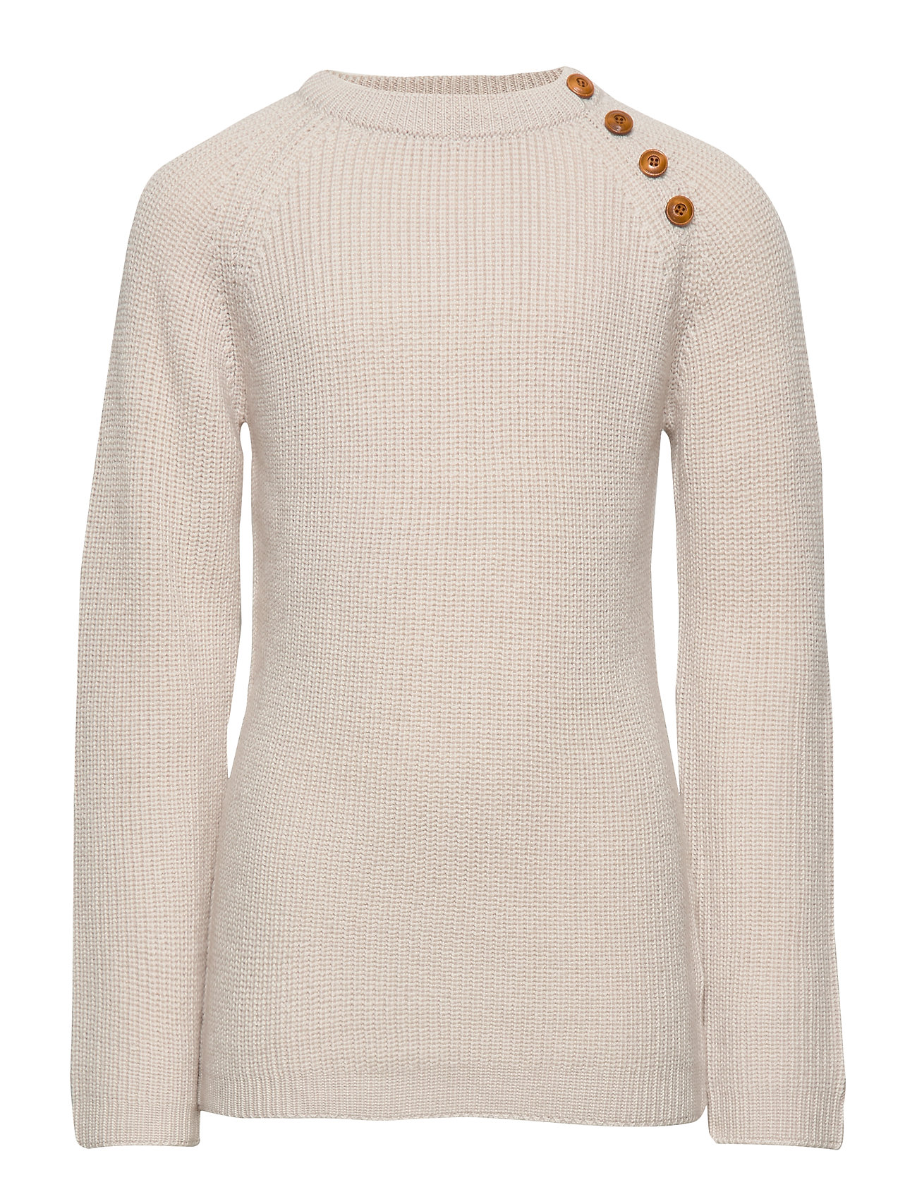 Image of Rib Sweater Pullover Striktrøje Creme FUB (3406216715)