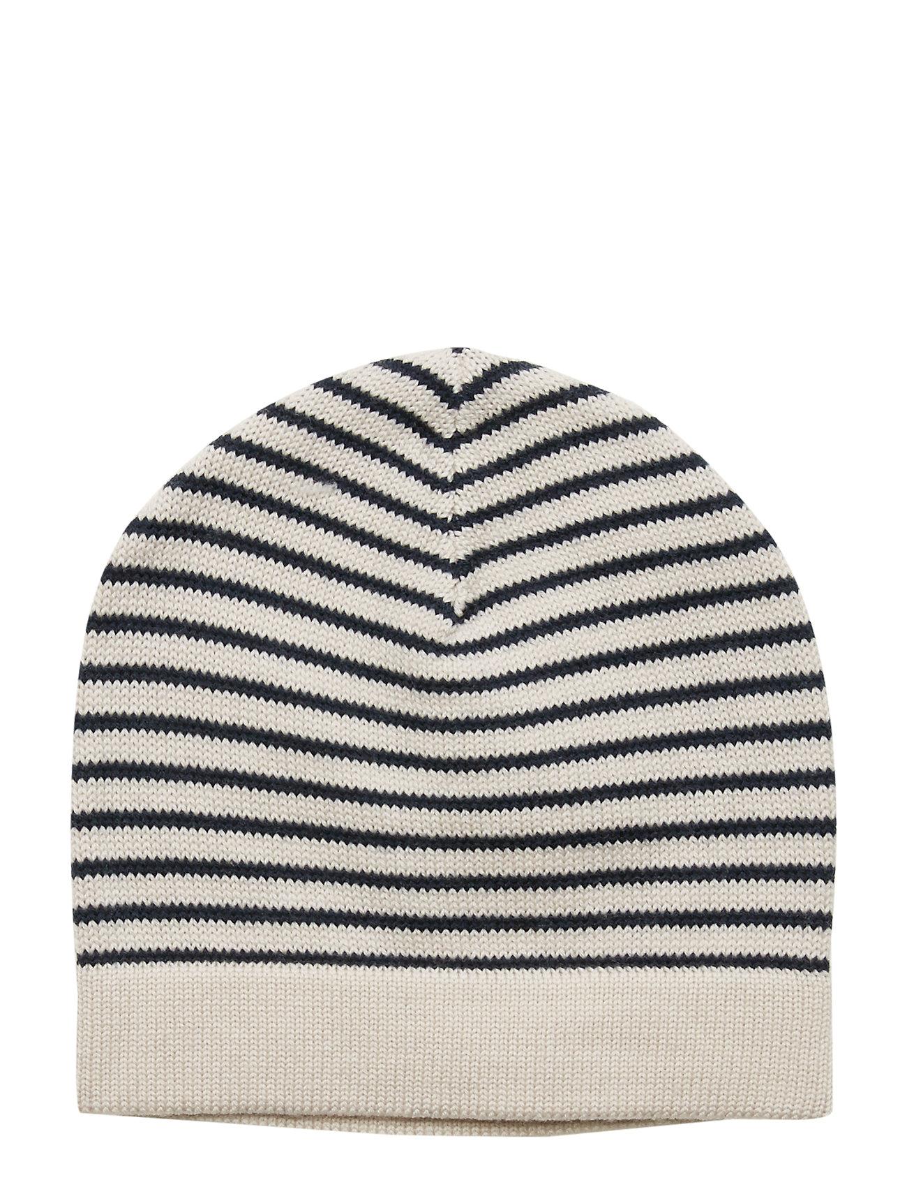 FUB Hat - ECRU/NAVY
