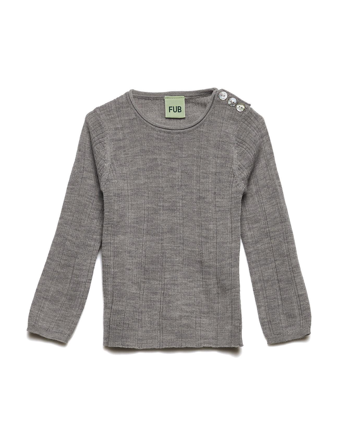 030311310108 Baby Rib Blouse (Light Grey) (£24.85) - FUB -