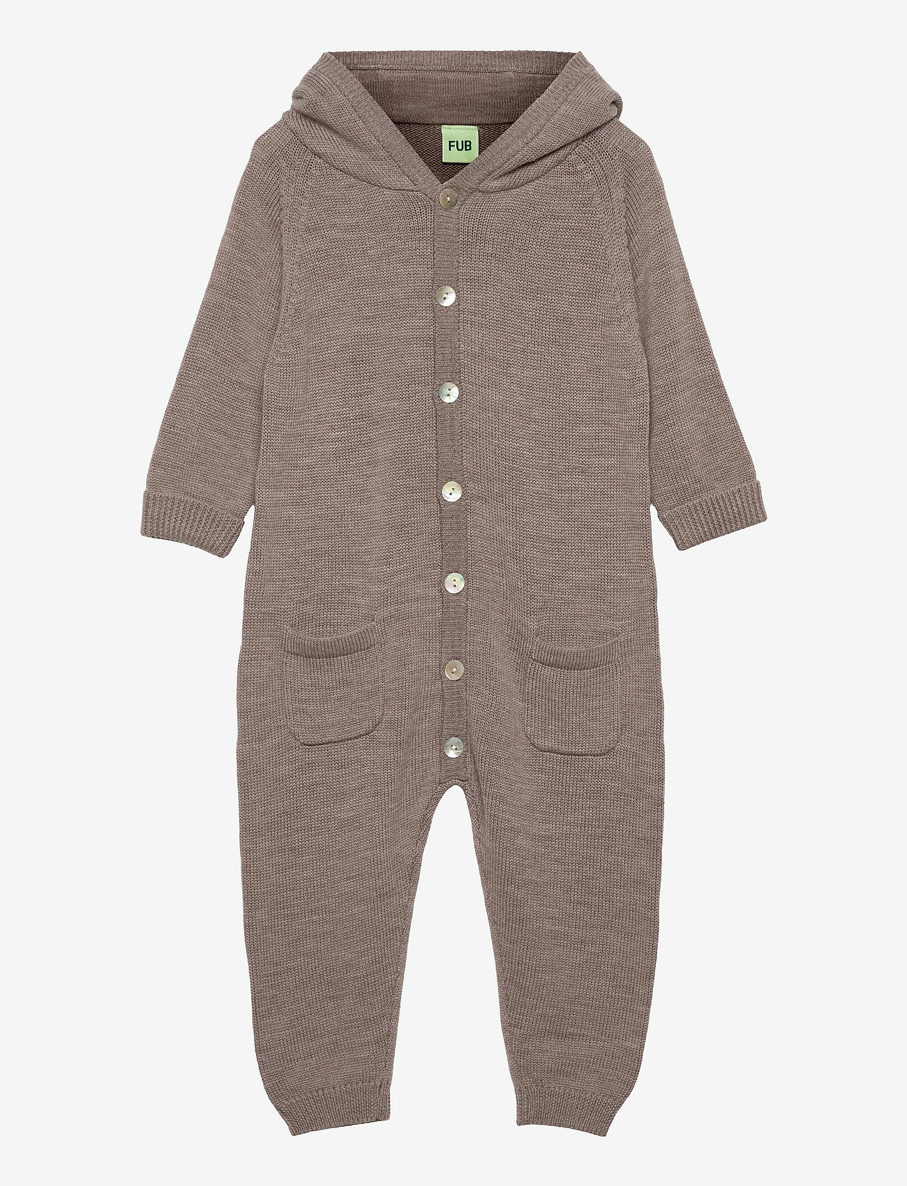 FUB - Baby Suit - langärmelig - beige melange - 0