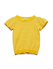 T-Shirt - ECRU/YELLOW