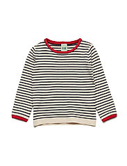 Striped Blouse - ECRU/NAVY