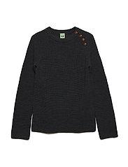 Rib Sweater - GREY