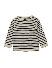 Baby Striped Blouse - ECRU/NAVY