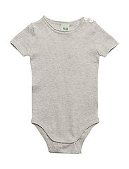 Baby S-S Body - LIGHT GREY
