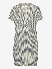 FUB - Checked  Dress - jurken - ecru/dusty blue - 1