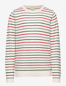 Multi Striped Blouse - ECRU