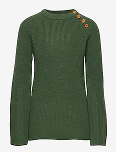 Rib Sweater - GREEN