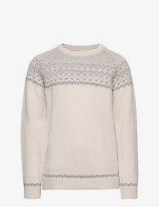 Nordic Sweater - ECRU/LIGHT GREY