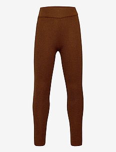 Leggings - leginsy - umber