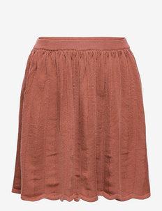Skirt - röcke - teracotta