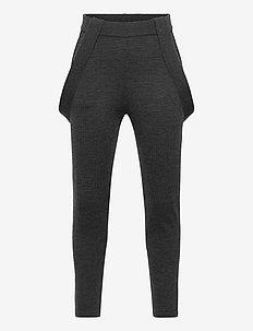 Pants - spodnie - charcoal melange