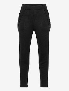 Pants - spodnie - dark navy