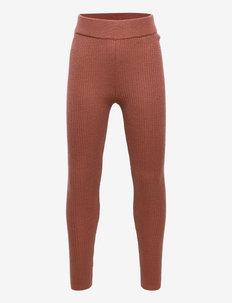 Leggings - leggings - teracotta