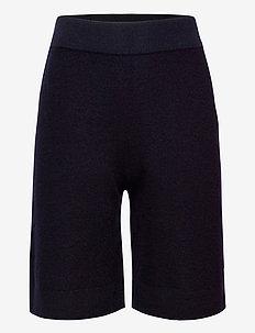 Feltet Shorts - shorts - dark navy