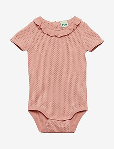 Baby Pointelle Body - BLUSH