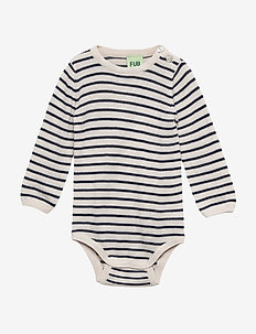 baby body - ECRU/NAVY